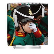 Little Soldier I Shower Curtain