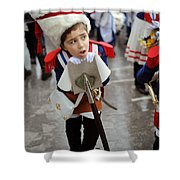 Little Soldier Shower Curtain