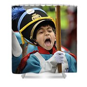 Little Soldier V Shower Curtain