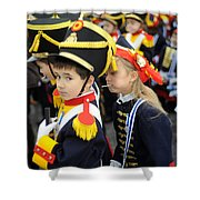 Little Soldiers II Shower Curtain