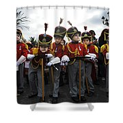 Little Soldiers IIi Shower Curtain