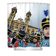 Little Soldiers Iv Shower Curtain