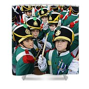 Little Soldiers Vi Shower Curtain