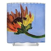 Little Sunflower Shower Curtain