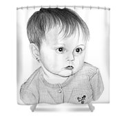 Little Sweetie Shower Curtain