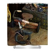 Little Trike Many Miles Shower Curtain