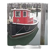 Little Tug Shower Curtain