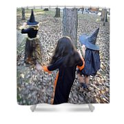 Little Witches Shower Curtain