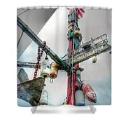 Live Crab Hdr 2164 Shower Curtain