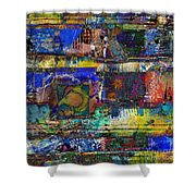 Live Life In Color Shower Curtain