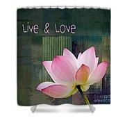 Live N Love - - 0333-15a Shower Curtain