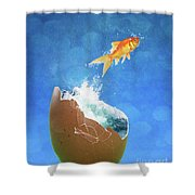 Live Your Dreams Shower Curtain