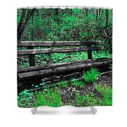Lively Color Shower Curtain