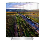 Livermore Wine Country--las Positas Winery Shower Curtain