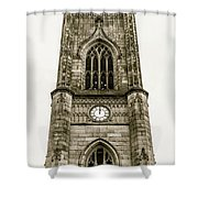 Liverpool Church Of St Luke - Tower B Shower Curtain