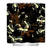 Lives Of Ants Shower Curtain