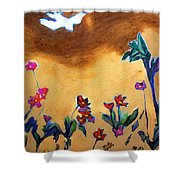 Living Earth Shower Curtain