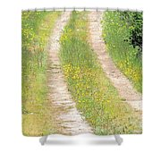 Living In The Country Shower Curtain