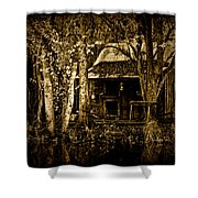 Living On The Bayou Shower Curtain