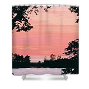 Living Room View, Photograph Shower Curtain