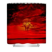 Living Sky Shower Curtain