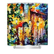 Living Town Shower Curtain