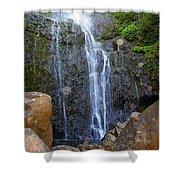 Living Waters - Wailua Falls Maui Shower Curtain