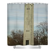 Livingstone Memorial Light Shower Curtain by Michael Peychich
