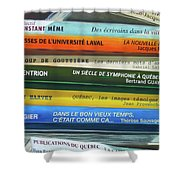 Livres ... Shower Curtain