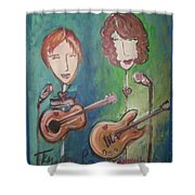 Liz Clark Shower Curtain