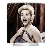 Liz Fraser, Vintage British Actress Shower Curtain