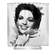 Liza Minnelli By John Springfield Shower Curtain