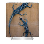 Lizard Art Shower Curtain