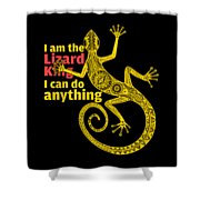Lizard King Shower Curtain