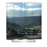 Ljubljana Shower Curtain