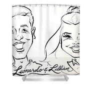 LL Shower Curtain