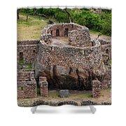 Llactapata Ruins Shower Curtain