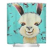 Llama Sue Shower Curtain