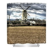 Llancayo Mill Usk 2 Shower Curtain