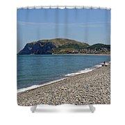 Llandudno Beach Shower Curtain