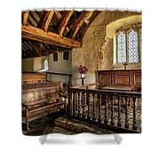 Llangelynnin Church Shower Curtain