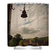Llangollen Station Shower Curtain