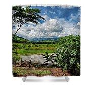Llanos Venezolanos Shower Curtain