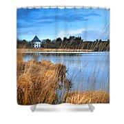 Llyn Llech Owain Country Park 1 Shower Curtain
