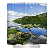 Llyn Lydaw Shower Curtain