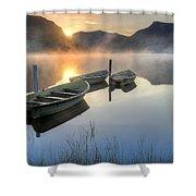 Llyn Nantlle Uchaf Shower Curtain