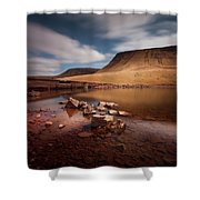 Llyn Y Fan Fach Black Mountain Shower Curtain