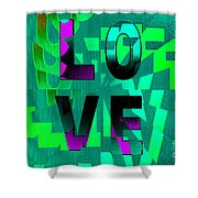 Lo Ve Shower Curtain