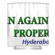 Loan Against Property In Hyderabad  Letzbank Shower Curtain