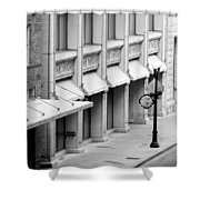 Loan Bike Shower Curtain